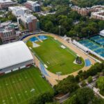 George C. Griffin Track & Field Facility aerial