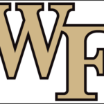 Wake Forest Demon Deacons Framed logo
