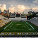 Bobby Dodd Stadium end zone